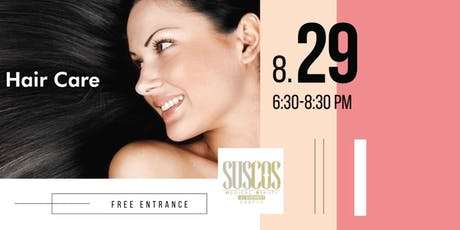 Detox and Beauty - An Evening for a Better Hair Care tickets