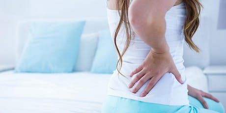 Safe and Effective Ways to Manage Sciatica & Back Pain tickets
