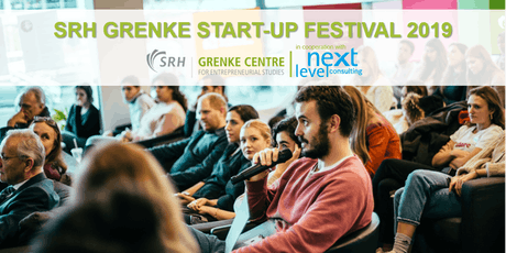SRH GRENKE Start-up Festival 2019 Tickets