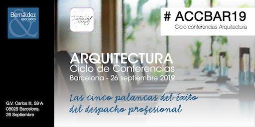 Arquitectura Ciclo de Conferencias Barcelona #ACCBAR