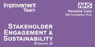 Bitesize Stakeholder Engagement and Sustainability