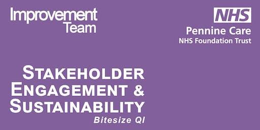 Bitesize Stakeholder Engagement and Sustainability C3