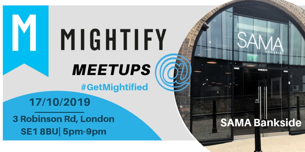 Image result for mightify event london bridge