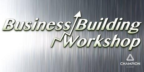 Business Building Workshop - Are YOU ready to take your life to the next level?