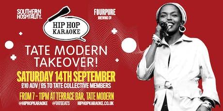 Hip Hop Karaoke - Tate Modern Takeover! tickets