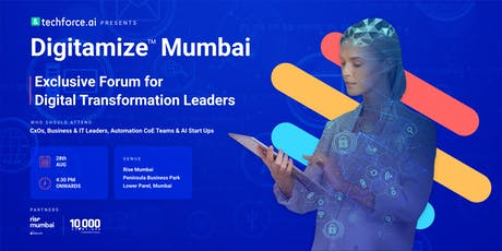 Digitamize™ Mumbai - Leverage AI & Automation for Digital Transformation tickets