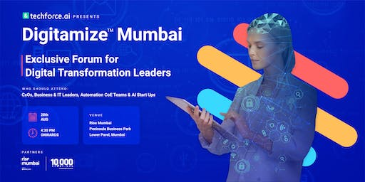 Digitamize™ Mumbai - Leverage AI & Automation for Digital Transformation