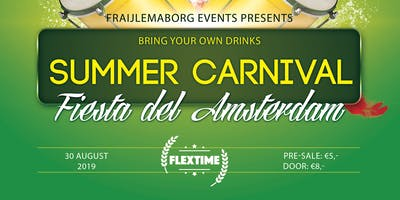 Fraijlemaborg exchange party Summer Carnival