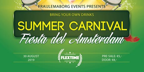 Fraijlemaborg exchange party Summer Carnival tickets