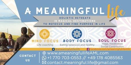 A Meaningful Life Colombia 2019 (en español) - 3 días/2 noches entradas