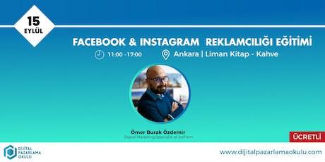 Facebook-Instagram Reklamcılığı Eğitimi Ankara [ÜCRETLİ] tickets