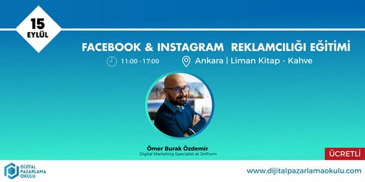 Facebook-Instagram Reklamcılığı Eğitimi Ankara [ÜCRETLİ]