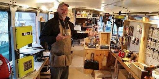 Pinewood Derby Work-shop aboard Big Sally Saturday, 25 January 2020