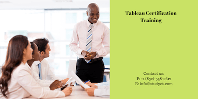Tableau Certification Training in Rocky Mount, NC