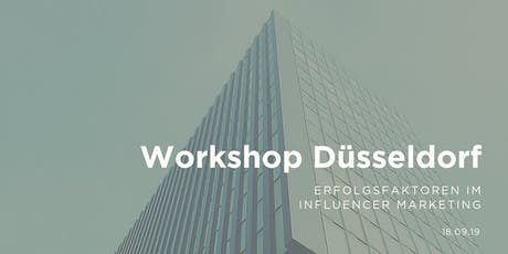 Workshop - Erfolgsfaktoren im Influencer Marketing | Super7000, Düsseldorf Tickets