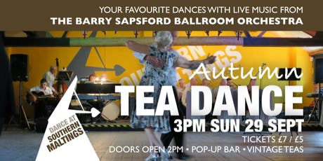 Autumn Tea Dance with The Barry Sapsford Ballroom Orchestra tickets