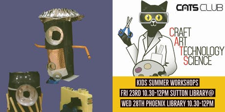 CATS Club - Phoenix Library tickets