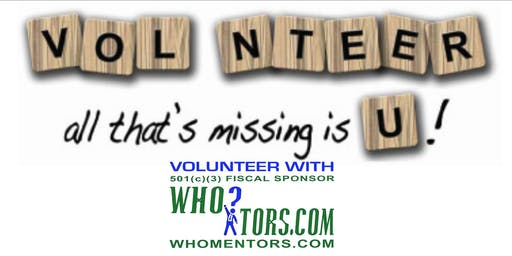 High School Student? Attend volunteer orientation: Do What You Like To Do!