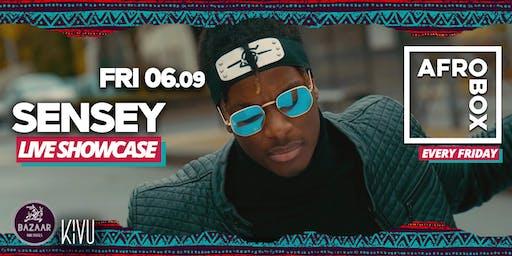 SENSEY Live Show in the AFROBOX
