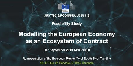 Modelling the EU Economy as an Ecosystem of Contracts - Open Workshop tickets