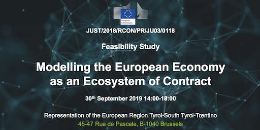 Modelling the EU Economy as an Ecosystem of Contracts
