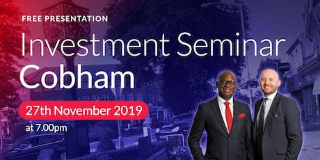 Cobham Investment Seminar Buy2LetCars tickets