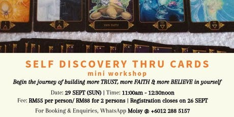 Self Discovery Thru Cards tickets