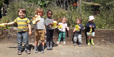 Nature Tots Forest School at Centre for Wildlife Gardening - Pay As You Go