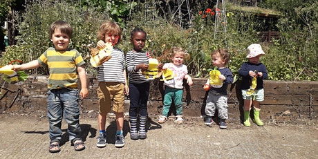 Nature Tots Forest School at Centre for Wildlife Gardening - Pay As You Go tickets