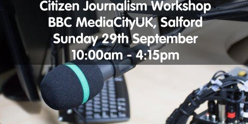 Community Media Connects - Sunday 29th September: BBC MediaCityUK, Salford
