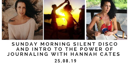 Sunday Silent disco and intro to journalling workshop