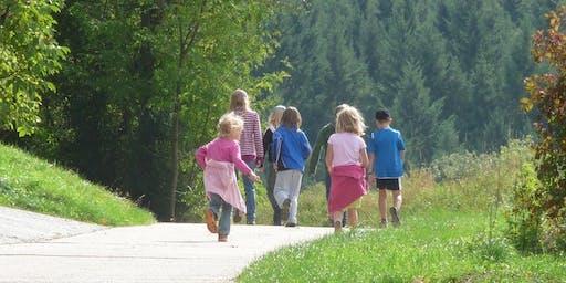 Naturrregion Sieg: Der Burgweg - Wanderung für Erwachsene und Kinder