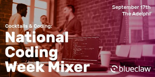 Cocktails and Coding: National Coding Week Mixer