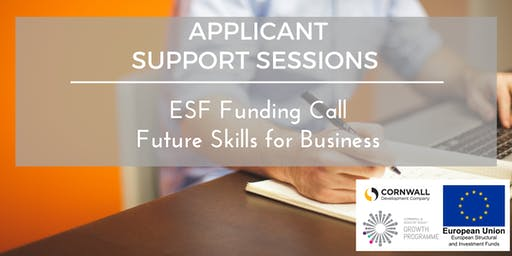 ESF Call- Future Skills for Business- 1-2-1 Workshop