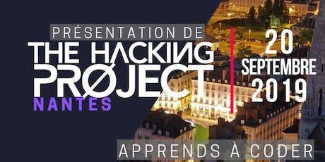 The Hacking Project Nantes automne 2019 (présentation gratuite) billets