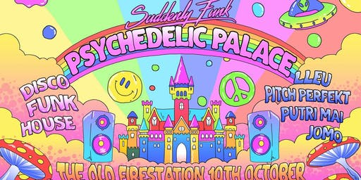 Suddenly Funk - Psychedelic Palace