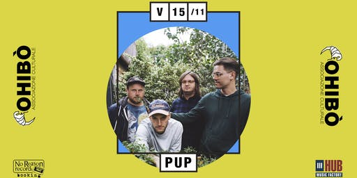 PUP in concerto all'Ohibò (Milano)