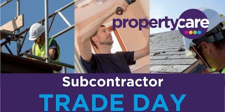 Subcontractor Trade Day tickets