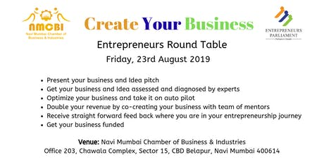 Pitch Business/ Idea- Entrepreneurs Round Table tickets