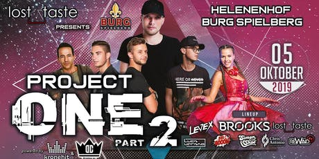 Project ONE - Part 2 Tickets