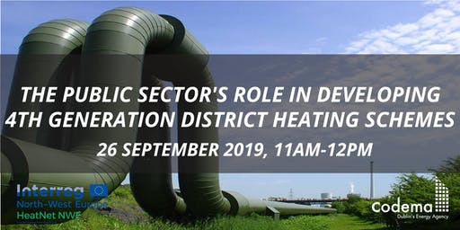 Webinar: The Public Sector's role in Developing 4th Generation District Heating