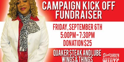 Campaign Kick Off Wings and Things