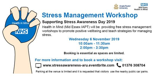 Stress Management Workshop (2pm)