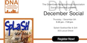 December 2019 Social at Splash Seafood Bar & Grill