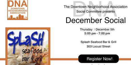 December 2019 Social at Splash Seafood Bar & Grill tickets