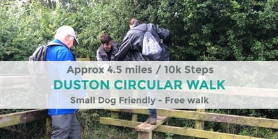 DUSTON CIRCULAR WALK   4.8 MILES   MODERATE   NORTHANTS