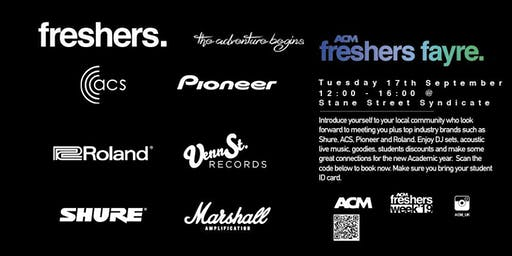 ACM London Freshers Fayre at Stane Street Syndicate (ACM STUDENTS ONLY)