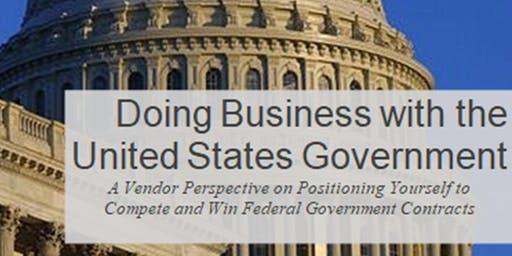 Doing Business With The Government: 2-day Training Event