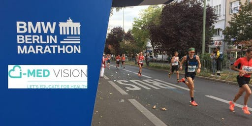 Berlin Marathon i-MED vision Team Cheering Zones