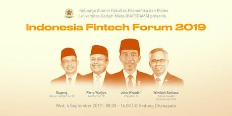 Indonesia Fintech Forum 2019 tickets